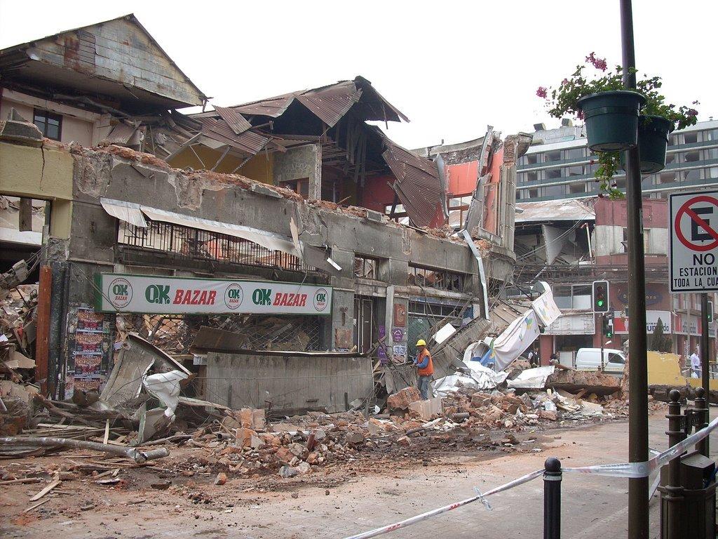 Efectos de terremotos
