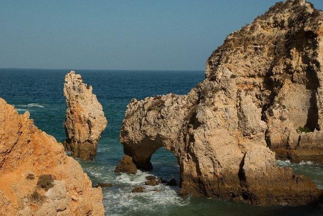 Erosión del agua sobre las rocas