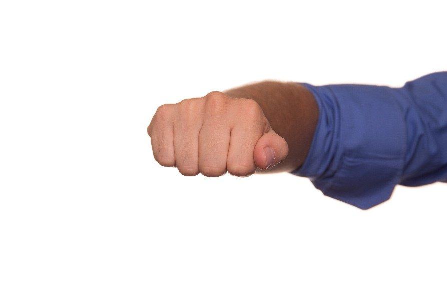 Articulación de los nudillos de los dedos