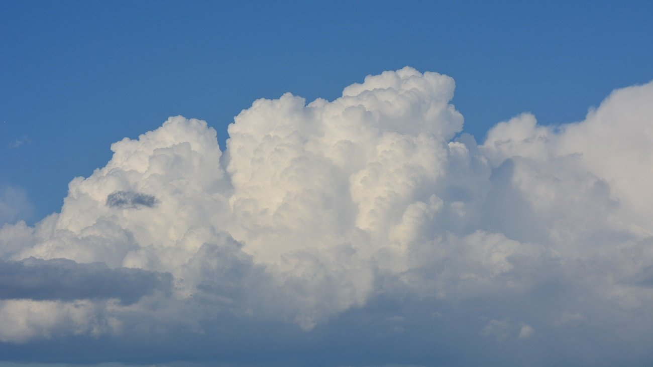 Nube del tipo cúmulo